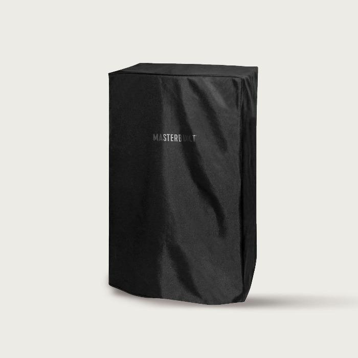 Durable, weather-resistant, polyurethane-coated smoker cover protects your smoker from the elements year-round. Black cover resists fading.