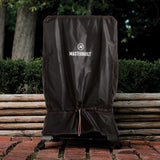 Scroll to product image Digital Charcoal Smoker Cover on Brick Patio