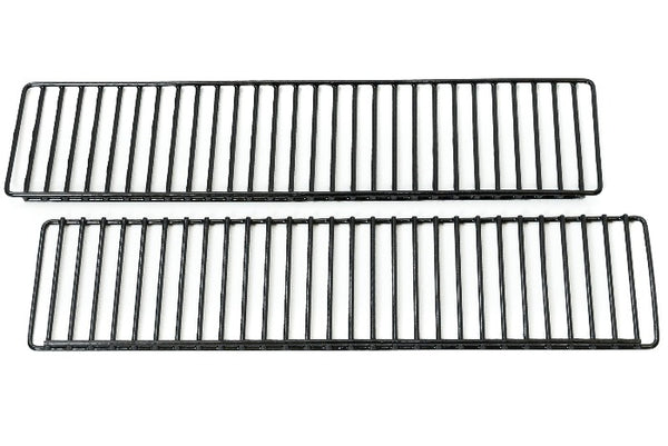 2 narrow rectangular wire warming racks