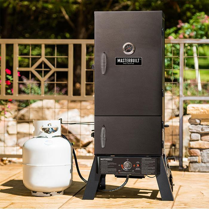 Masterbuilt Pro Series Dual Fuel Smoker in Black lifestyle product image