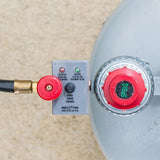 Scroll to product image Gas regulator system with indicator lights