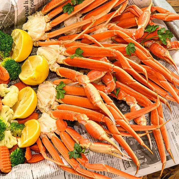Not just for frying - boil crab legs and other seafood, too