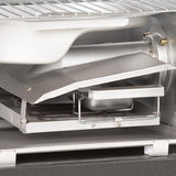 Scroll to product image Masterbuilt MES 140|B Digital Electric Smoker closeup of wood chip and water trays