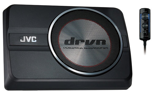 "JVC CW-DRA8 8"" POWERED SUBWOOFER"