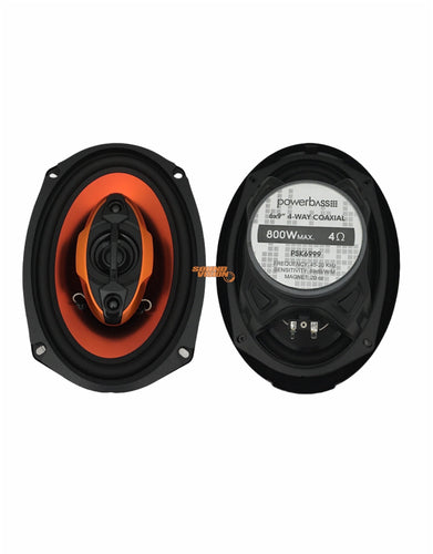 POWERBASS PSK6999 SPEAKERS