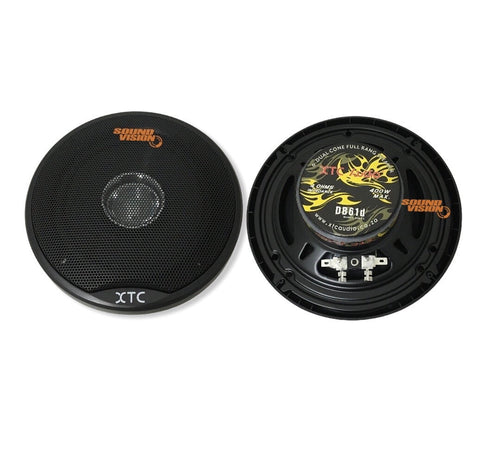 XTC DB61d  Dual Cone Speakers