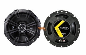 Kicker 43DSC6704 Coaxial Speakers