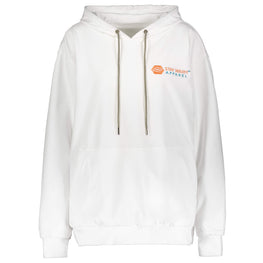 Heated 3 Level Temperature Hoodie With Rechargeable Battery for Men & Women - White
