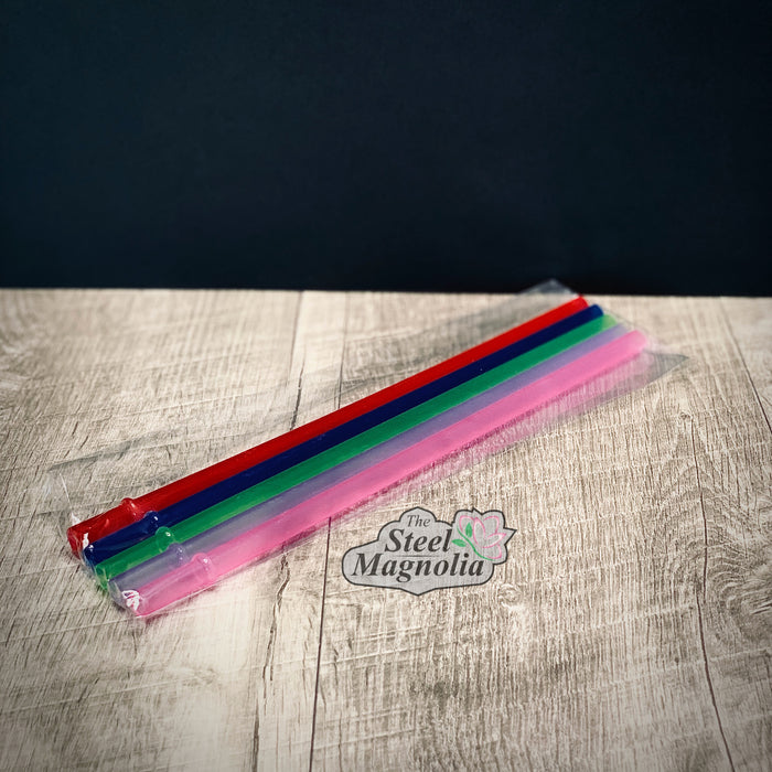 "5 pack 9"" COLOR Straws"