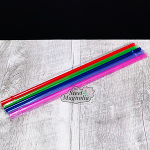 "5 pack 12"" COLOR Straws"