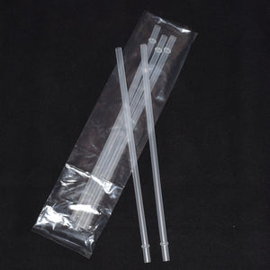 "5 pack 11"" CLEAR Straws"