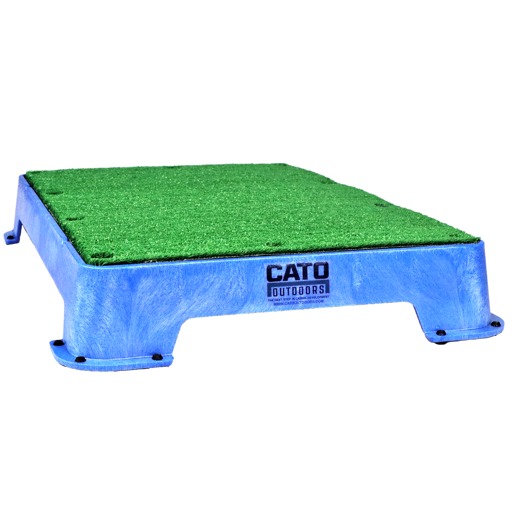Blue Cato Boards with Turf Surface