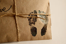 Load image into Gallery viewer, 25 Embossed Baby Shower Favors. Fresh Roasted Coffee. Baby Love.