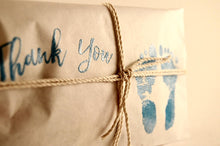 Load image into Gallery viewer, 25 Embossed Baby Shower Favors. Fresh Roasted Coffee.