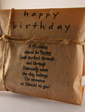 Load image into Gallery viewer, Coffee Birthday Card. Fresh Roasted Coffee. Handmade Birthday Gift