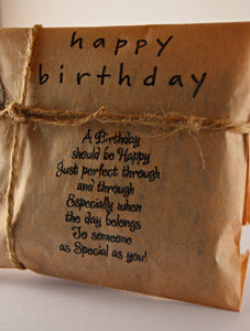 Coffee Birthday Card. Fresh Roasted Coffee. Handmade Birthday Gift