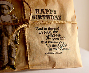Coffee Birthday Card. Coffee Greeting Card. Fresh Roasted Coffee