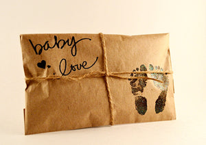 25 Embossed Baby Shower Favors. Fresh Roasted Coffee. Baby Love.