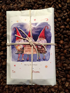 Stocking Stuffers/Party Favors. Set of 6. Fresh Roasted Coffee.