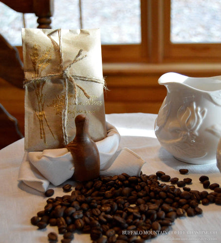 Thanksgiving Favors for Guests. Coffee Gifts. Set of 10