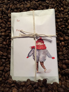 Stocking Stuffers/Party Favors. Set of 6. Fresh Roasted Coffee