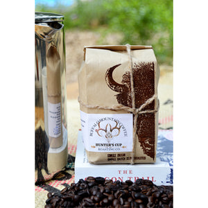 Hunter's Cup: 2-16oz Bags. Peruvian Coffee. Fresh Roasted Coffee. Medium Roast.