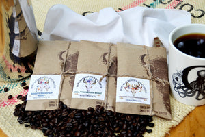 Trio Coffee Sampler. Coffee Lover Gift
