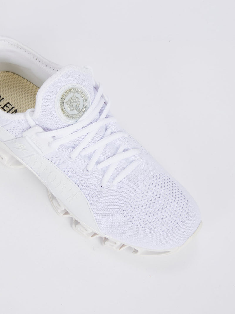 SNIPER White Running Shoes