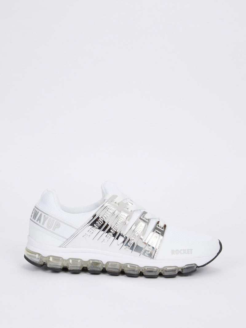 ROCKET White Running Shoes