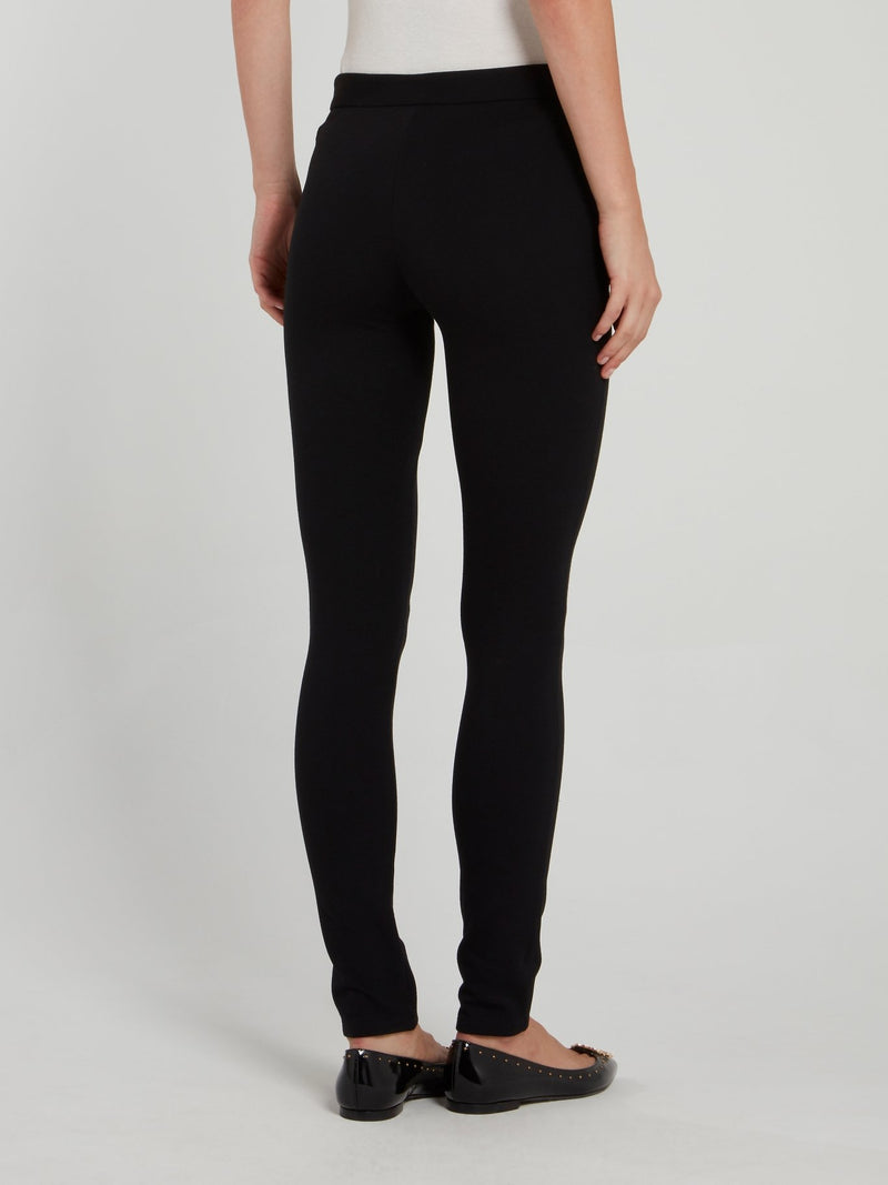 Black Bodycon Trousers