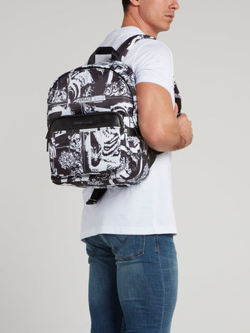 Baroque Print Backpack