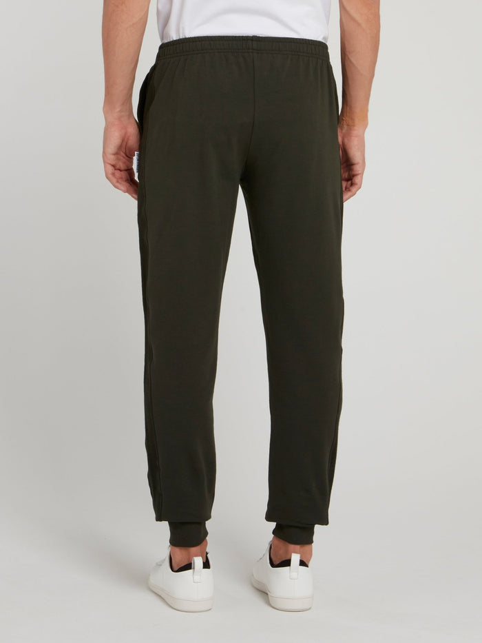 Olive Cotton Military Pants