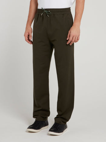 Olive Sport Icon Fleece Pants