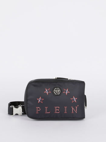 Black Logo Belt Bag