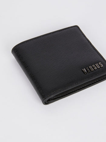 Black Billfold Leather Wallet