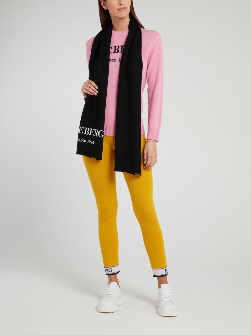 Pink Classic Logo Sweater