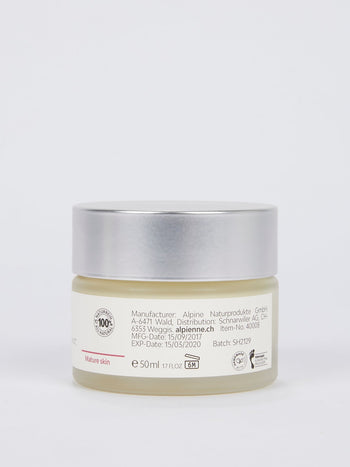Anti-Ageing Night Cream: Biopir with St. John's Wort and Lady's Mantel for Mature skin