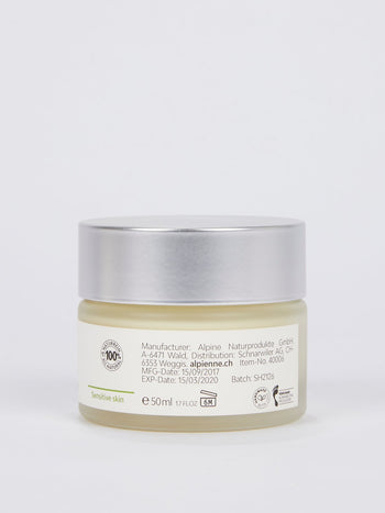 Soothing Night Cream: St. John's Wort with Camomile and Orange for Sensitive Skin and Skin Prone to Redness