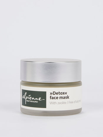 Detox Alcohol Free Face Mask With Zeolite
