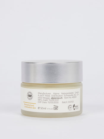 Clarifying Night Cream: Propolis with Yarrow and Mullein for Blemished and Combination Skin