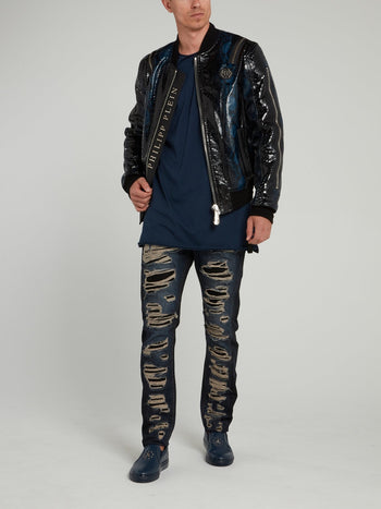 Milano Cut Tattered Jeans