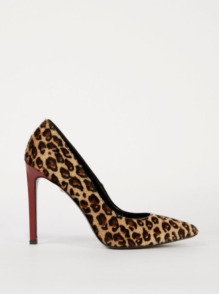 Leopard Effect Court Shoes