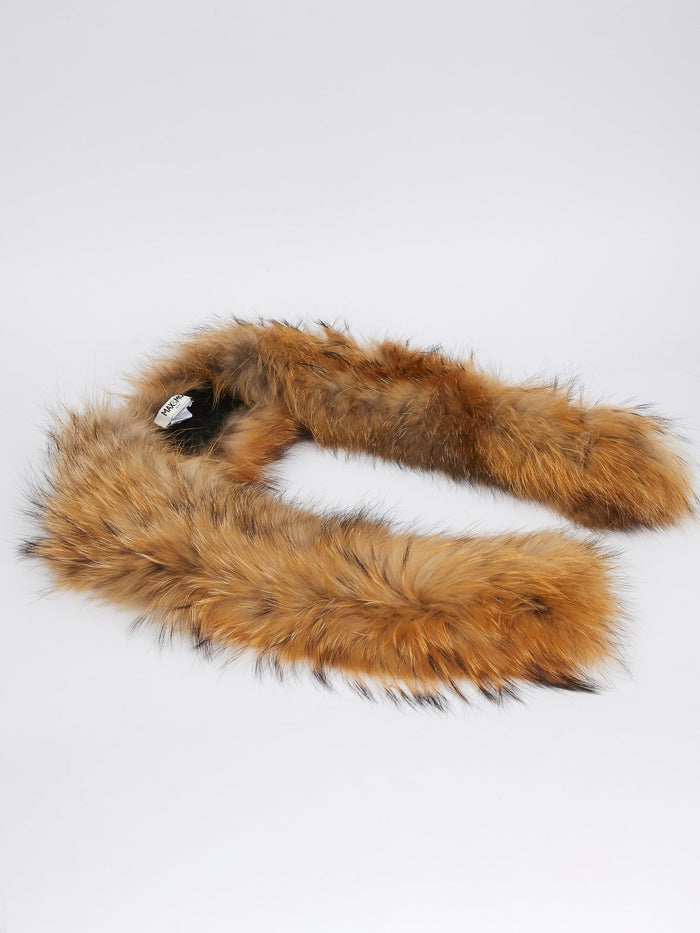 Long Tanuki Fur Collar