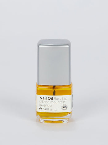 Nail Care Oil with Rosehip Oil and Mountain Lavender (15ml)