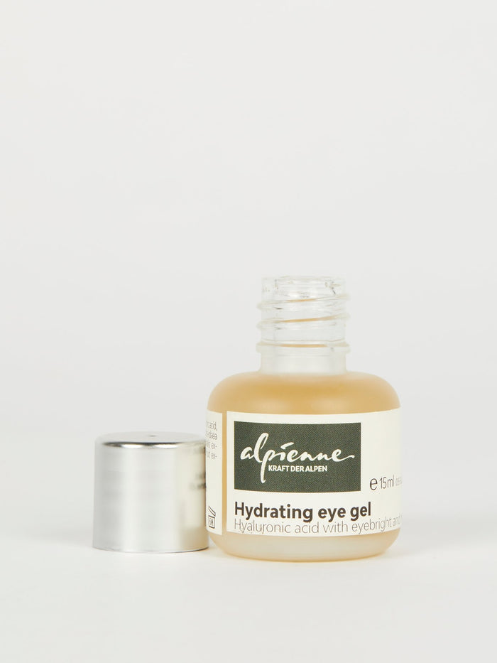 Hydrating Eye Gel: Hyaluronic Acid with Eyebright and Mullein