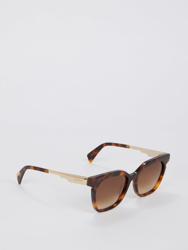 Brown Gradient Dark Havana Sunglasses