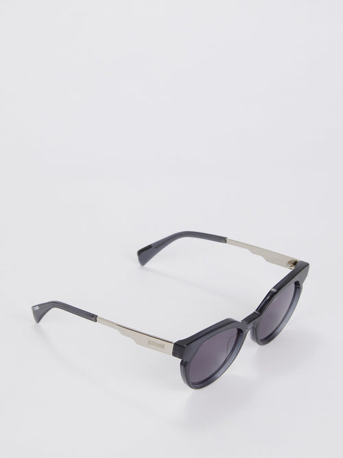 Smoke Lens Cat Eye Sunglasses