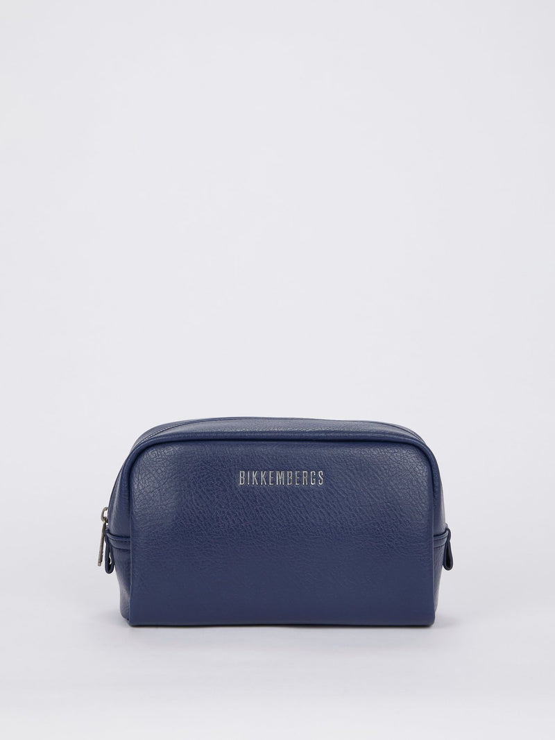 Next 011 Navy Twin Set Pouch Bag