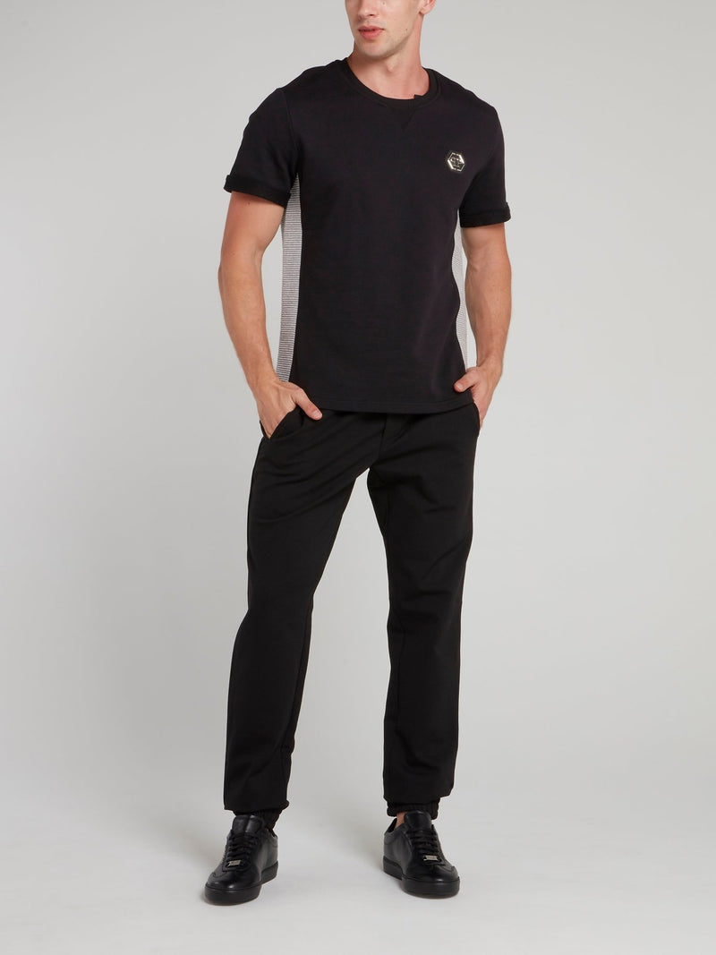 Black Drawstring Jogger Pants