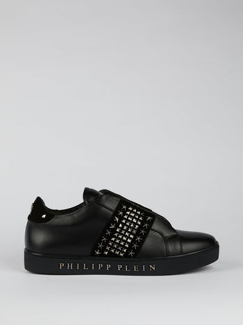 Bryant Black Multi-Stud Low Top Sneakers